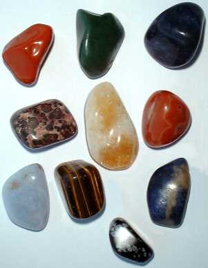 Some Crystals used in Crystal Healing
