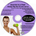 The Exercise in a Chair Program CD by Philip Chave