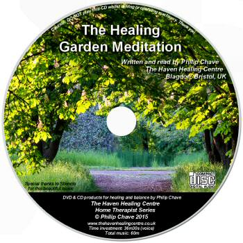 The Healing Garden Meditation CD by Philip Chave