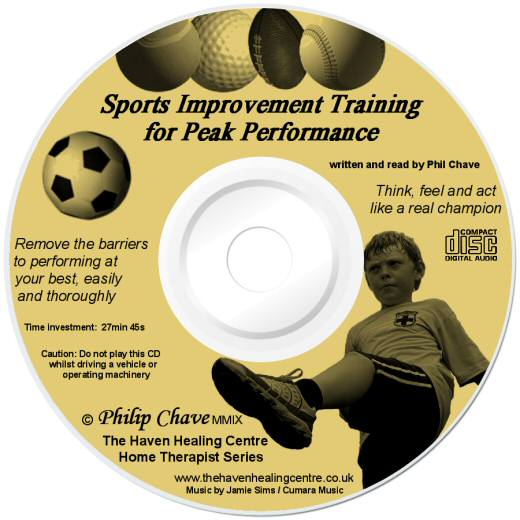 Order your Sports Peak Performance CD today, a product by Philip Chave