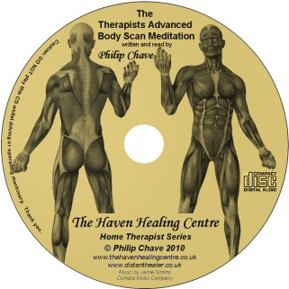 The Therapists Advanced Body Scan Meditation, a CD by Philip Chave